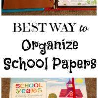Best Ways to Organize Kids School work