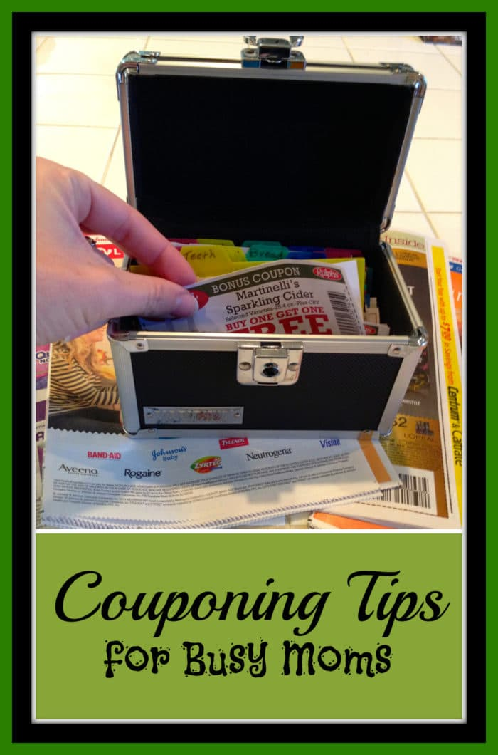 couponing Tips for busy moms