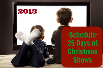 Christmas Television Show Schedule