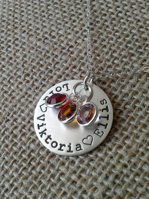 Win a FREE Customized Necklace from Stamped Evermore