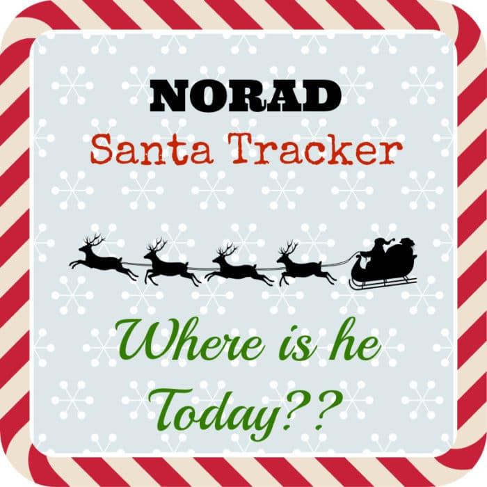 NORAD Santa Tracker App