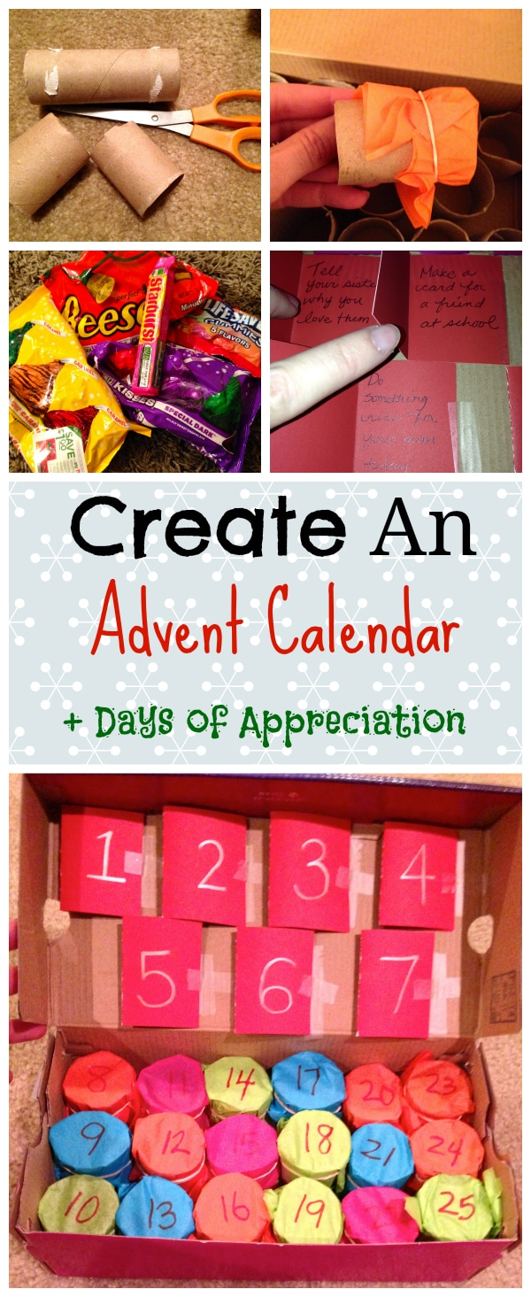 Celebrating the season of advent, here is a way you can make your own advent calendar of your own using simple materials at home.