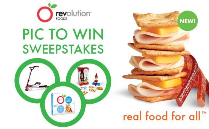 Revolution Foods ~ Bringing Healthier Lunches & Snacks to Kids ~ Contest
