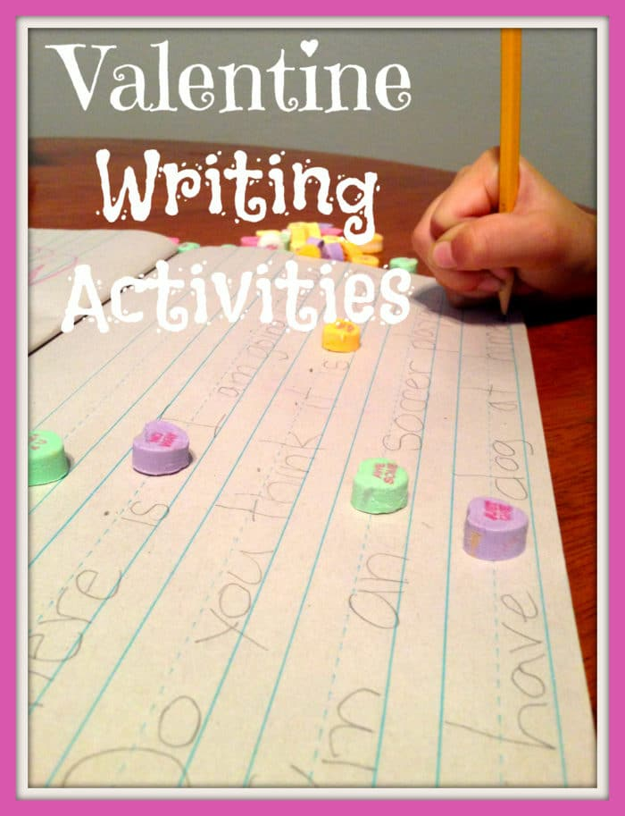 Valentine Writing Activities