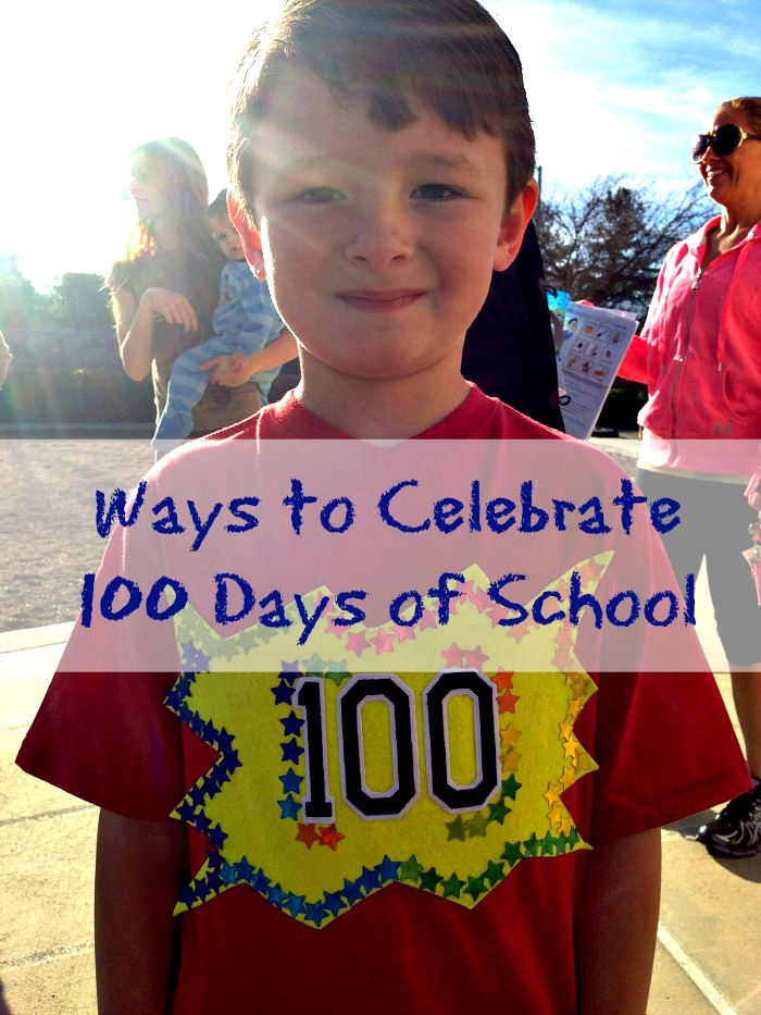 100 days of school crafts