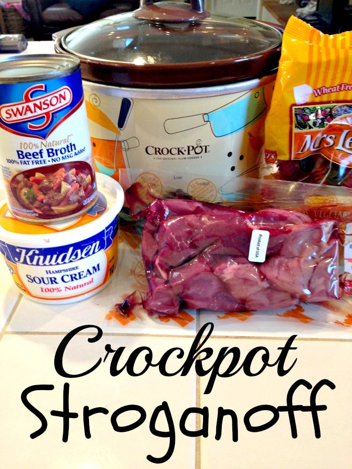 Crockpot beef Stroganoff · The Typical Mom