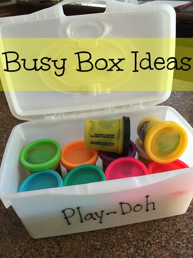 busy box ideas
