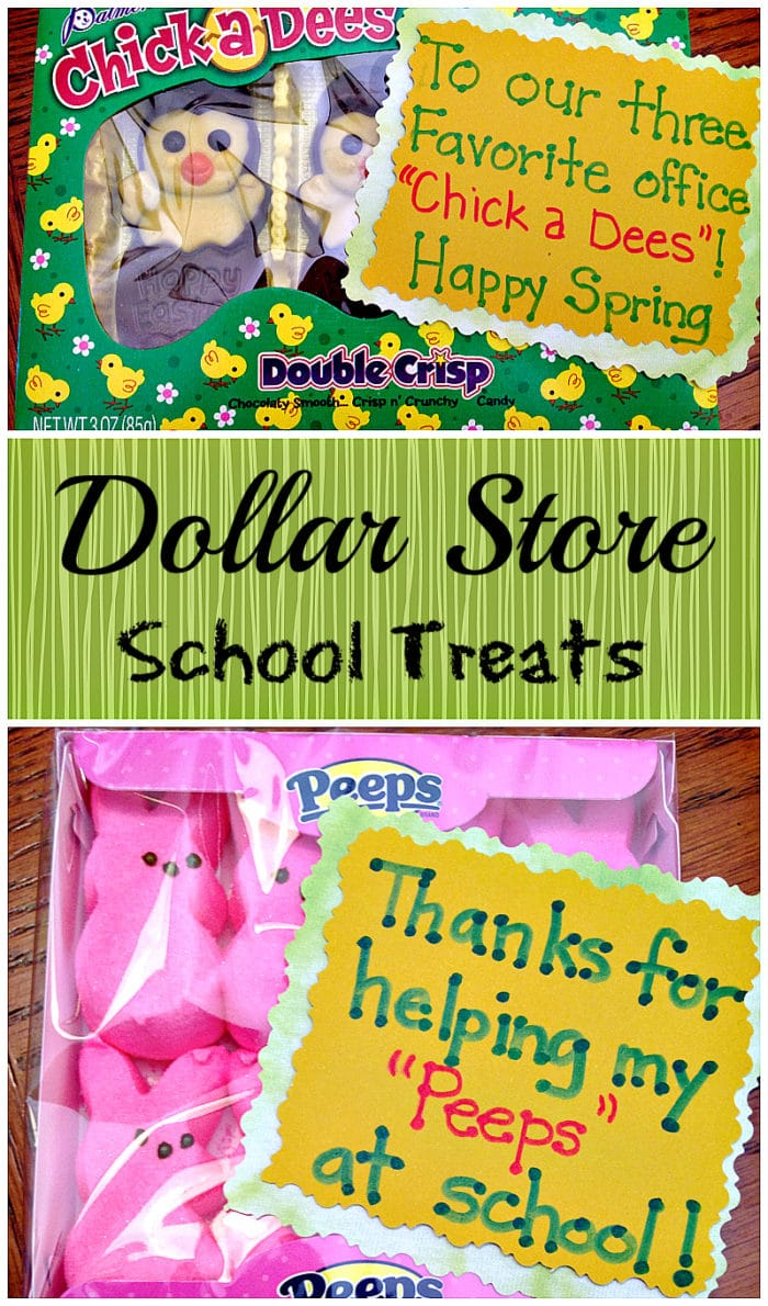 Dollar store gifts for teachers the typical mom dollar store teacher gifts for easter negle