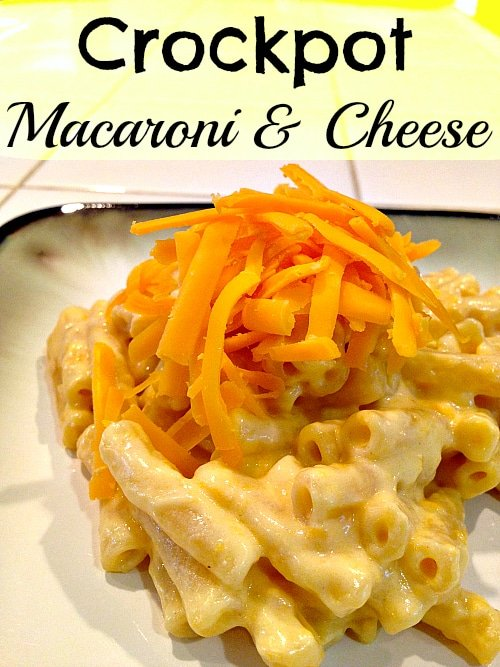 To make my crockpot macaroni and cheese recipe you will need 5 ...