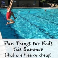 Fun things for kids to do in the Summer