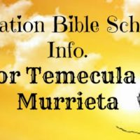 Vacation Bible School Temecula