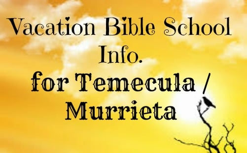 Vacation Bible School Temecula