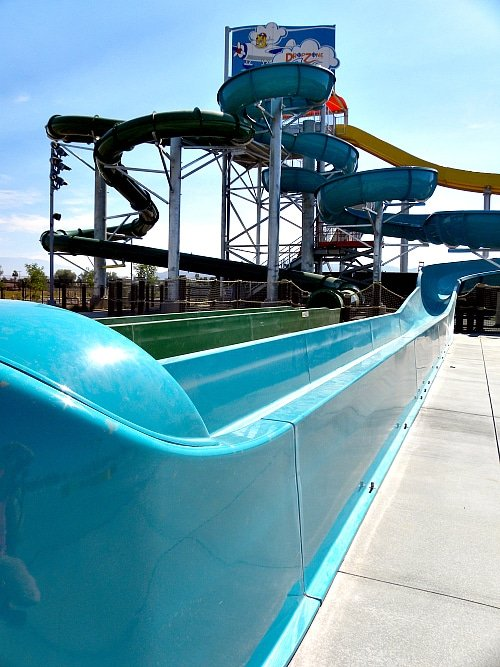 Larger Water Slides