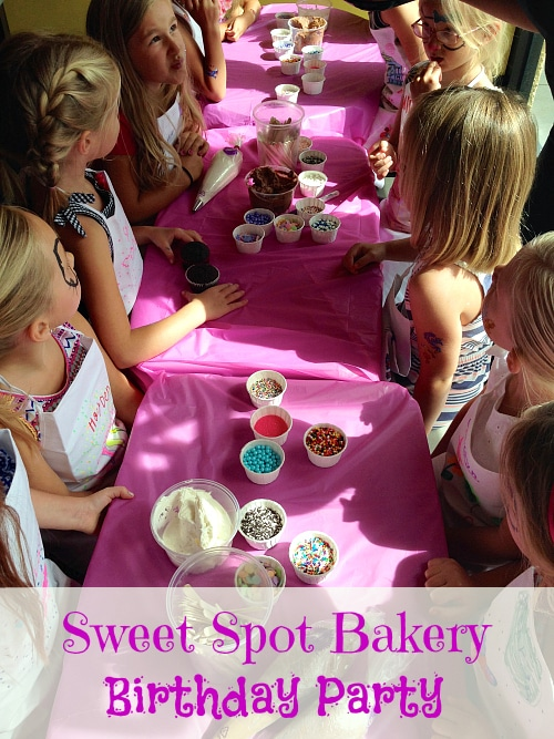 Sweet Spot Bakery Birthday Parties