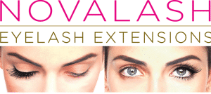 1 set of eyelash extensions Blink Boutique in Mall
