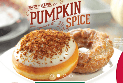 Try their new pumpkin spice too!