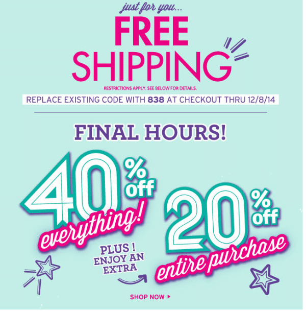 Coupons allheart free shipping