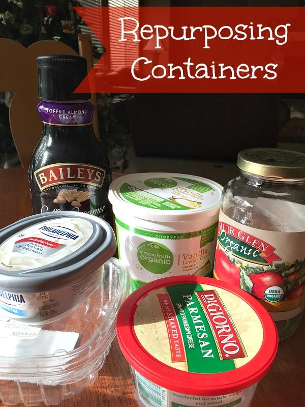repurposing plastic containers