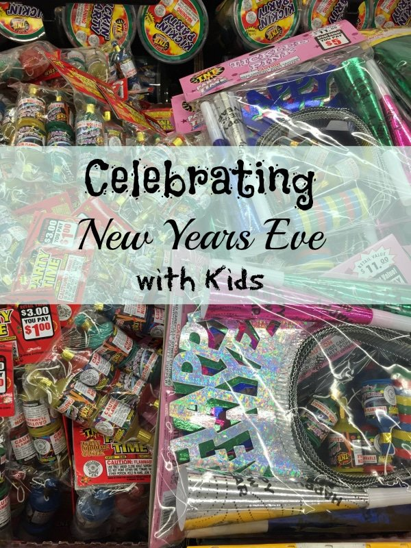how to celebrate new years with kids