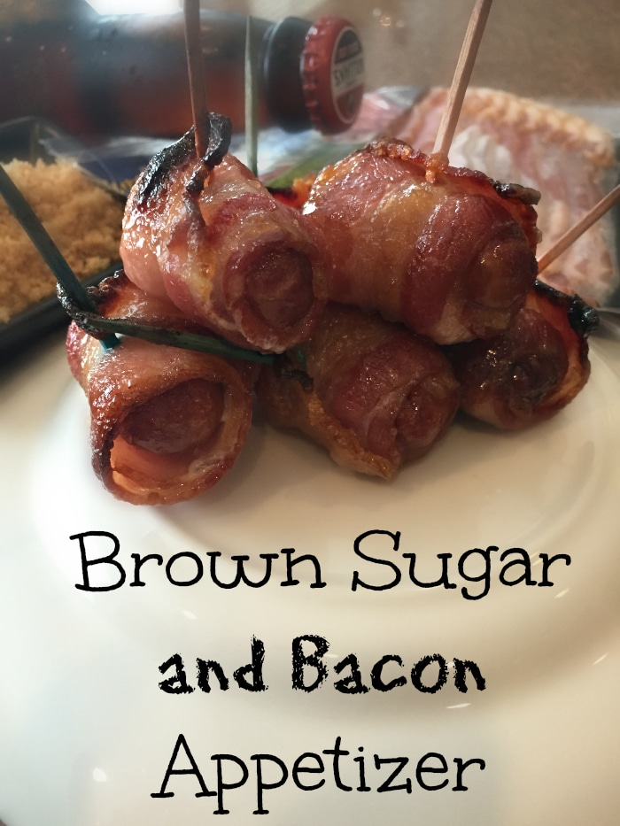 brown sugar and bacon appetizer