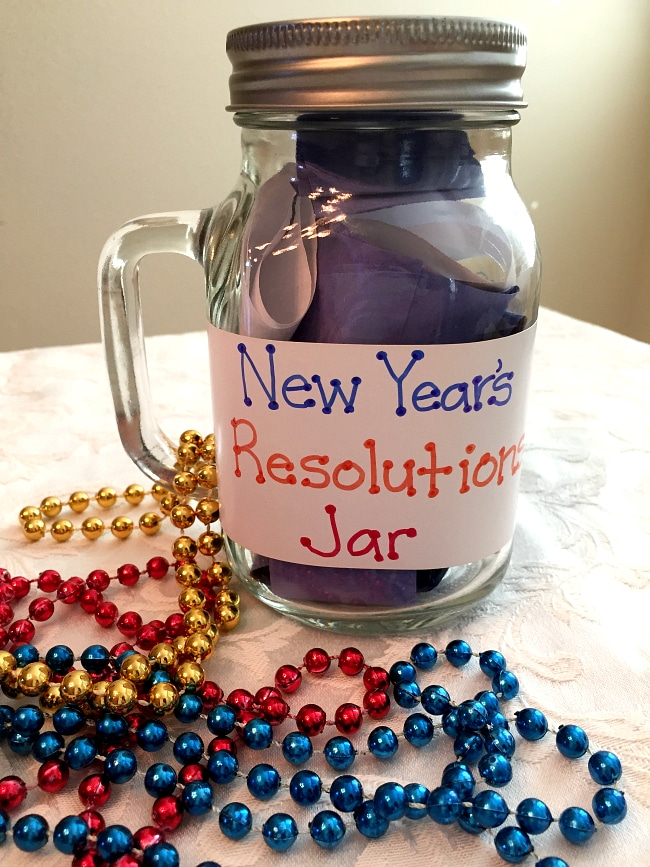 new years jar