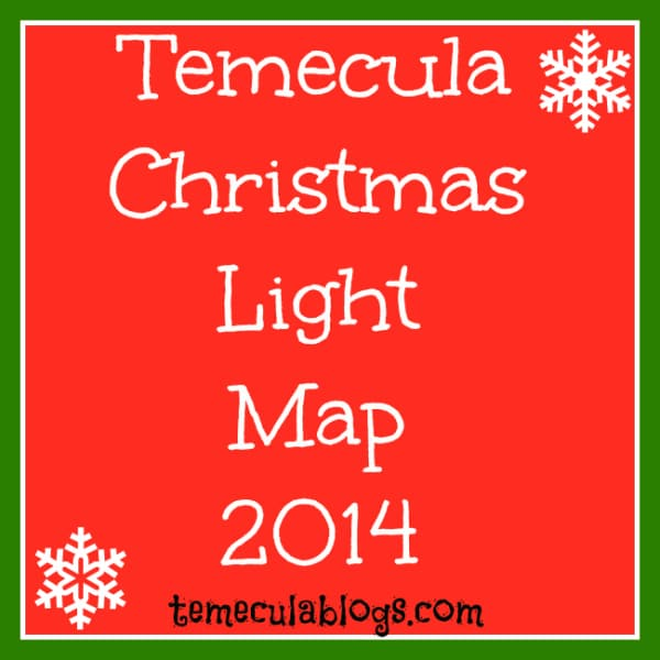 temecula lights map 2014