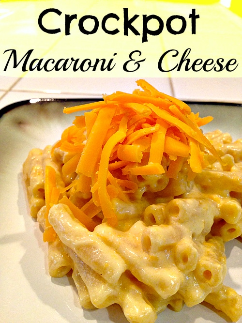 crockpot macaroni and cheese