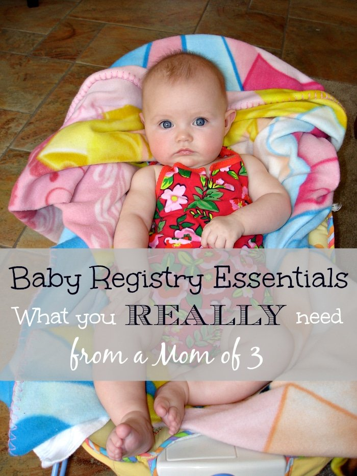 what to register for when having a baby