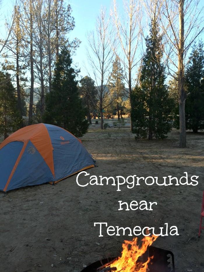 Camping near Temecula