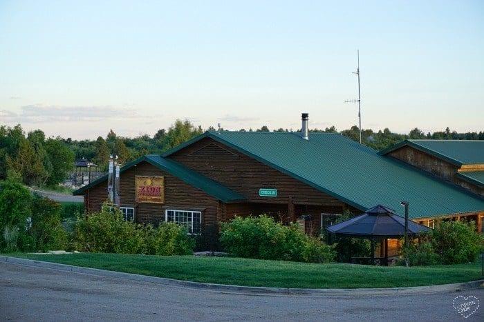 Zion Ponderosa cabins