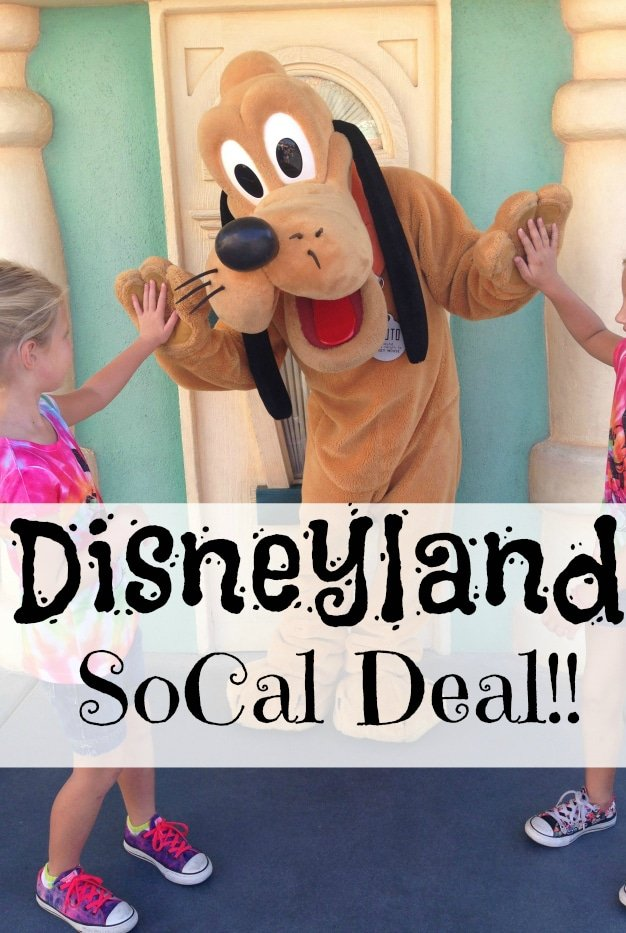 Disneyland SoCal tickets