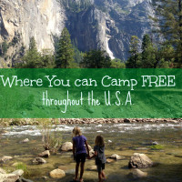 Places You can Camp for Free