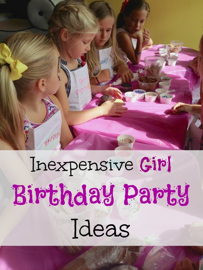 Cheap Girl Birthday Party Ideas The Typical Mom