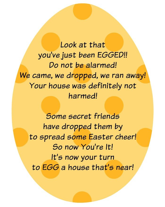 graphic relating to You've Been Egged Printable titled Easter Game titles for Young children · The Common Mother