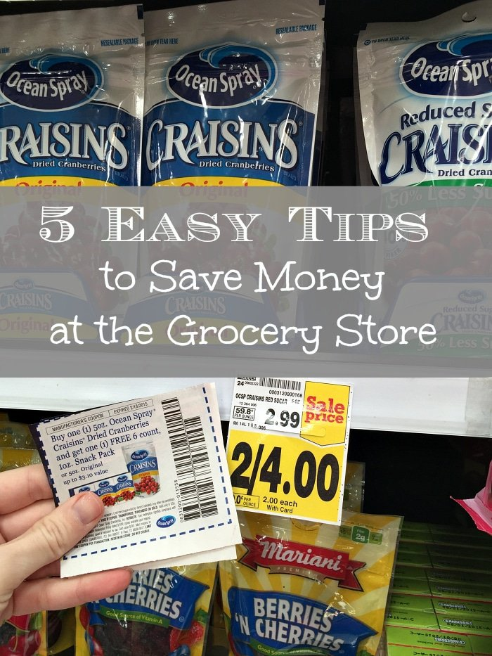 Easy couponing tips