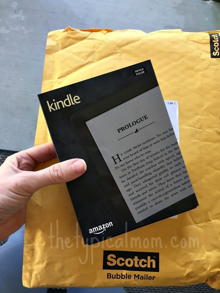 Amazon Kindle with FreeTime Unlimited gives you thousands of books for kids and a vocabulary builder too.