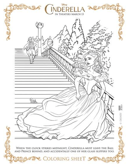 photo relating to Cinderella Printable known as Cinderella Free of charge Printables · The Traditional Mother