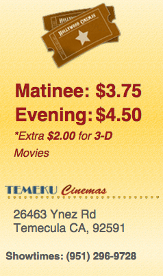 Temeku movie prices