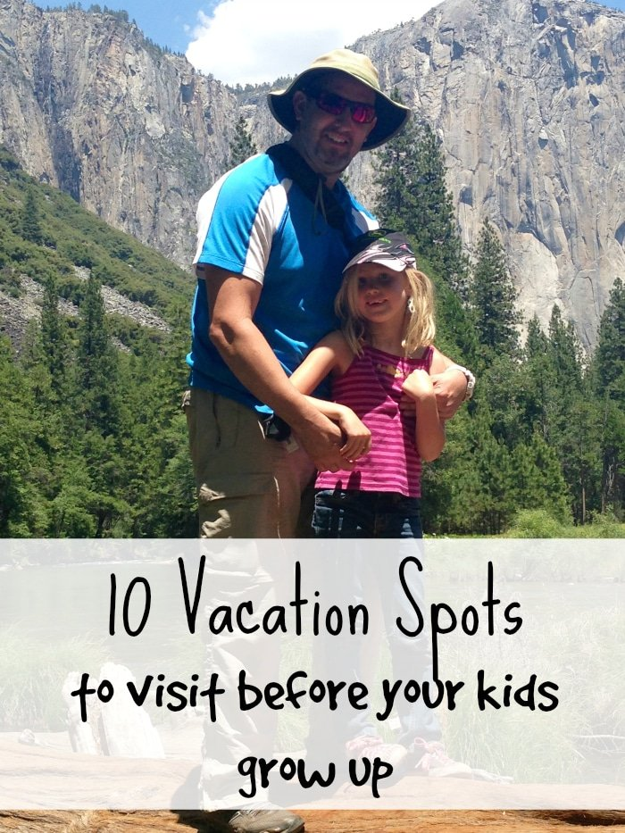 10 of the Best Vacation Spots for Kids