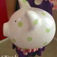 5 ways to make saving money fun for kids.