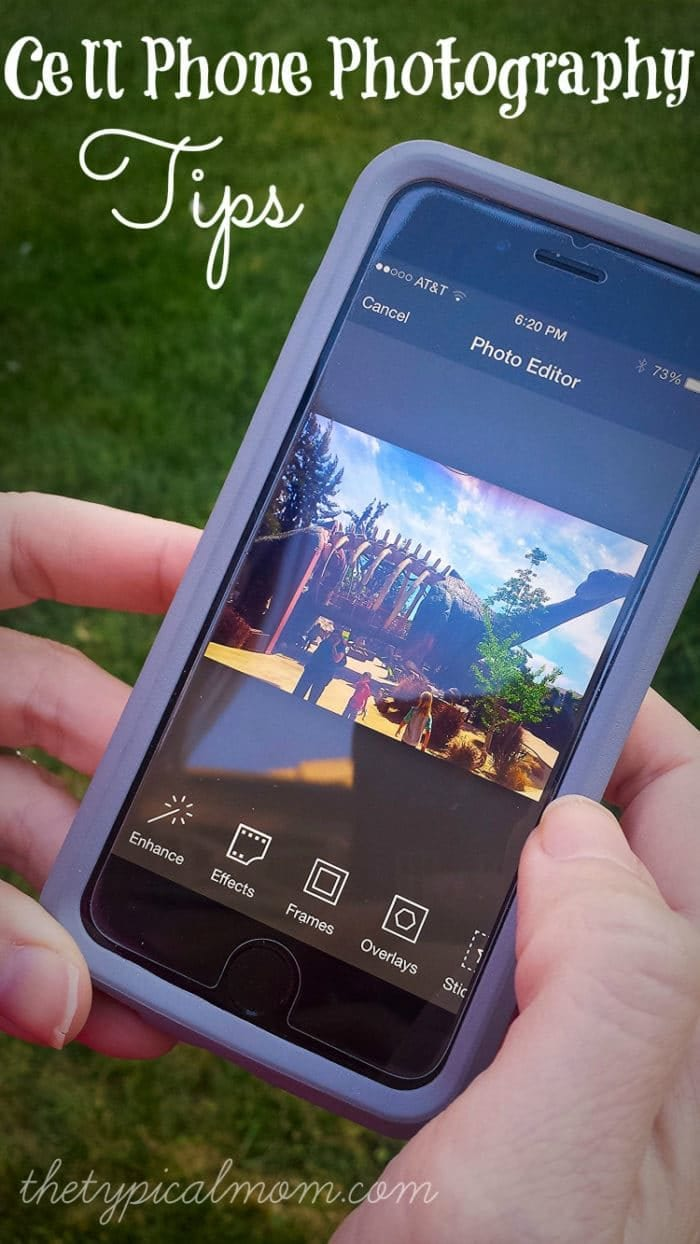 how to take the best picture with your cell phone