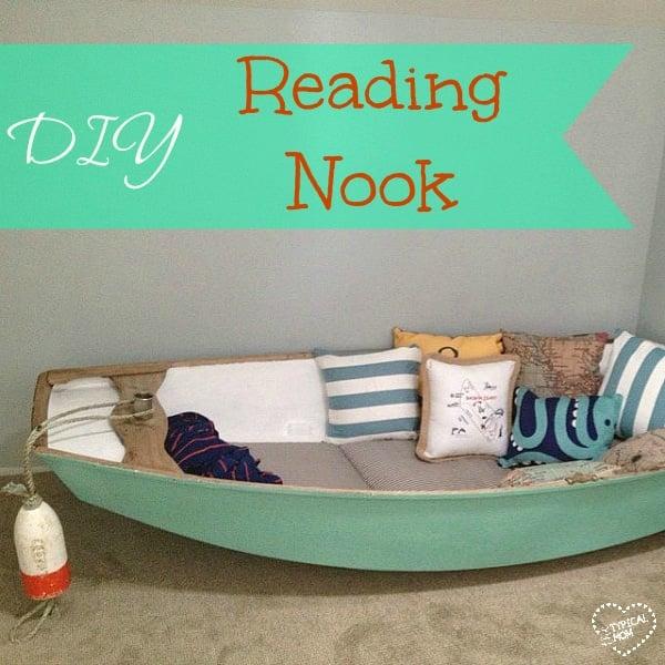 DiY reading reading nook
