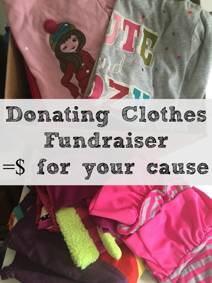 Easy fundraisers for your sports team or school. Donate used clothing and shoes to earn money!!