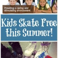 Kids Skate Free this Summer