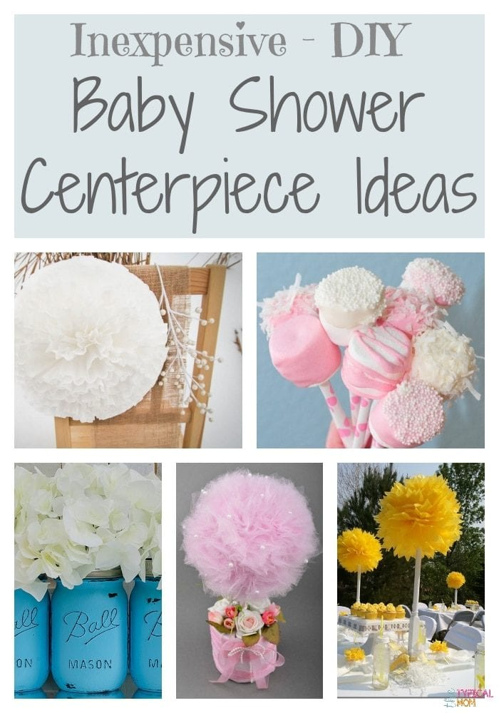Diy baby shower decorating ideas the typical mom for Baby shower decoration ideas homemade