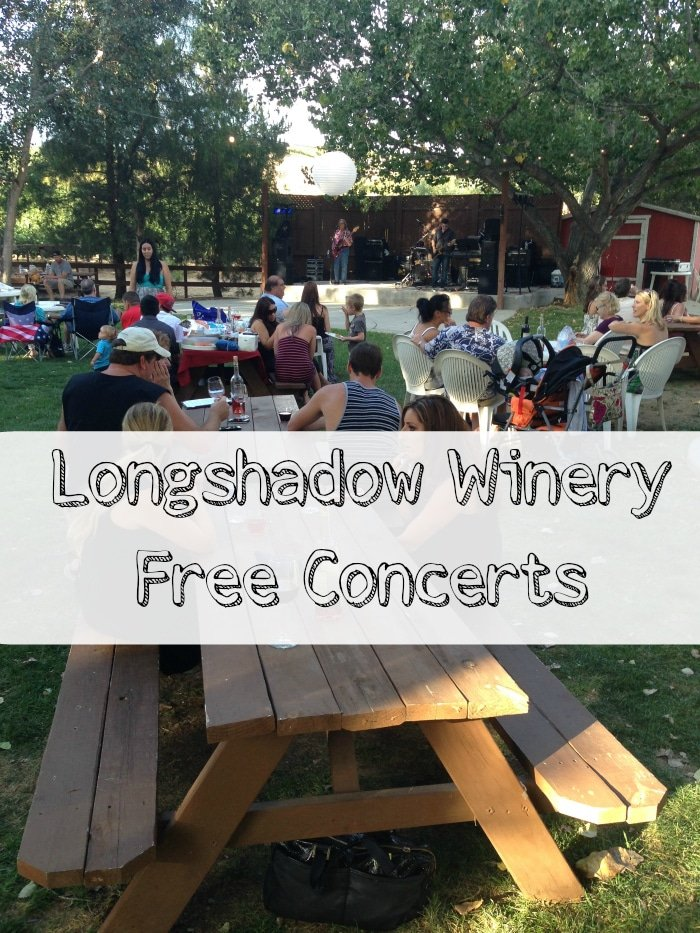 Longshadow Winery free Concerts
