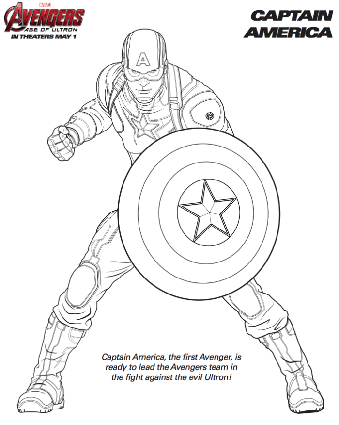 New Avengers Coloring Pages : Free marvel avengers coloring pages · the typical mom