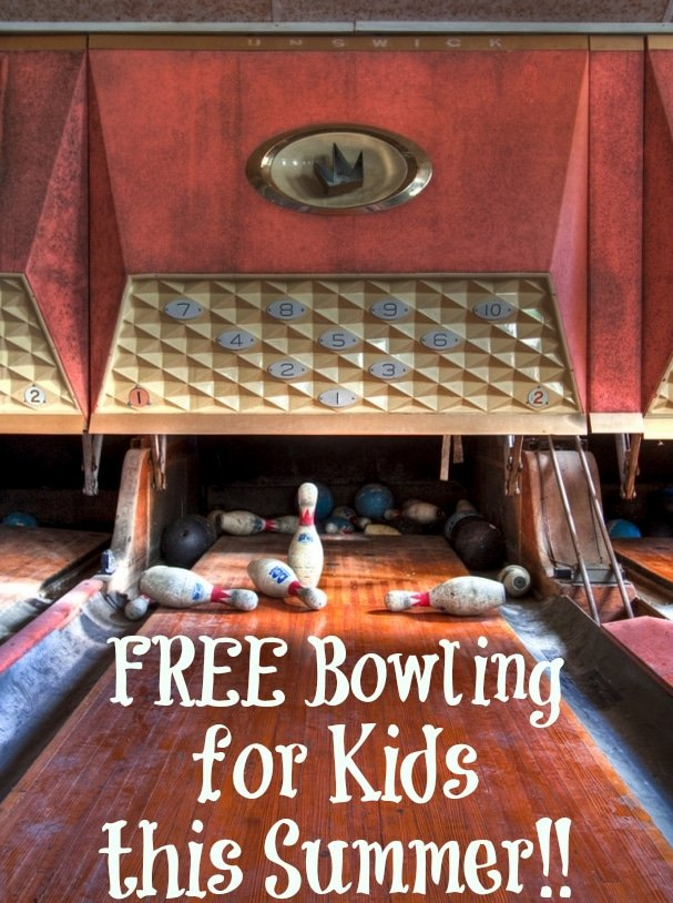 kids bowl for free this Summer