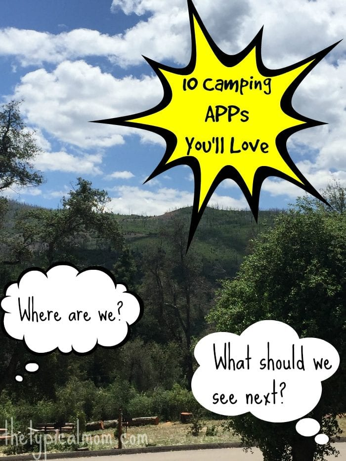 Free camping APPs