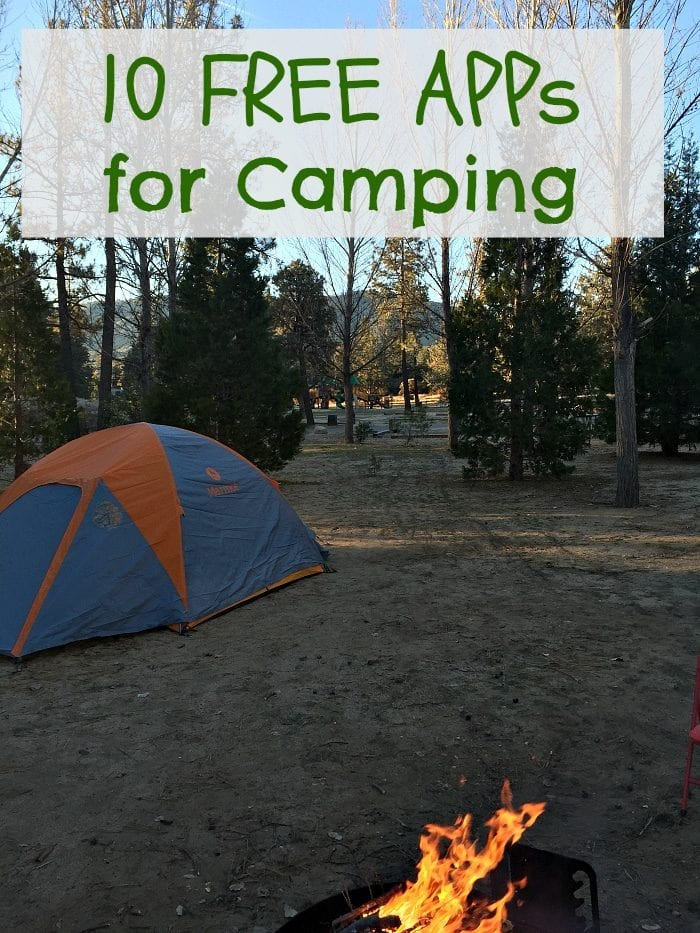 Free Camping APPs that will make your experience even better. #camping